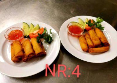 Vi serverar kinamat, asiatiskt och thaimat lagat på traditionellt sätt av erfarna kockar.