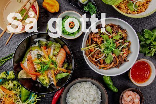 I vår mysiga restaurang serveras ni mycket god och vällagad Asiatisk mat